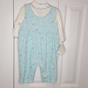 NWT Oshkosh B'Gosh 4-piece Velour Baby Outfit